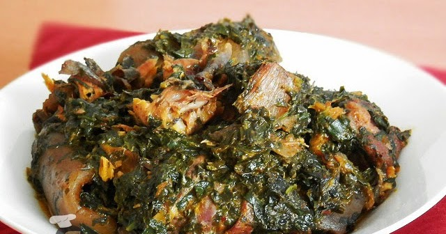 Afang soup; the irresistible efik delicacy