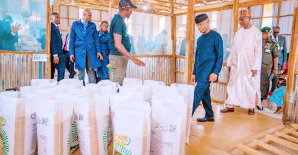 Osinbajo Visits Ex-Militant, Retson Tedheke's Farm In Nasarawa (Photos)