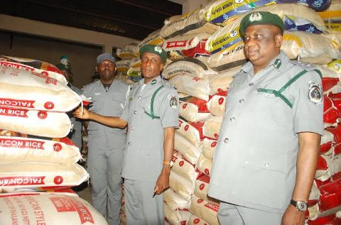 Nigeria Customs Service Set To Shut Supermarkets Found Selling Foreign Rice
