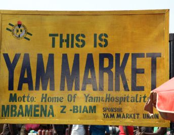 Exploring The Largest Yam Market In Africa: Zaki Biam